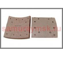 Накладки колодок FUSO/ HINO GN/FN(зад HINO 500 GH8  18t)