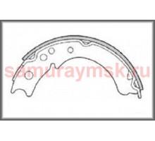 Колодки стояночного тормоза ISUZU (NKR55) ELF NHR/NKR/ NISSAN ATLAS APR70