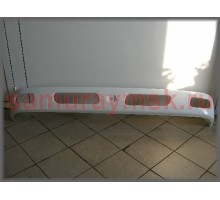Бампер с отв под туманки, широкая кабина MMС FUSO CANTER F#8 '02-,