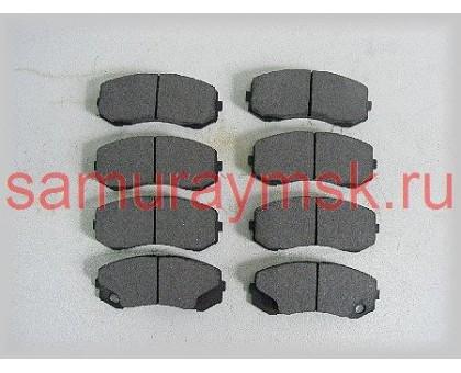 Колодки дисковые MMC (FUSO CANTER с 2014г)(EURO5 FE85S)/FE71/FE72/FE73/FE83/FE88
