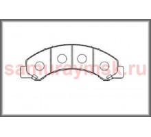 Колодки дисковые HINO 300 E-3/E4 /BOGDAN/ISUZU ELF NKR81/NKR85/NPR66