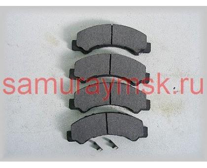 Колодки дисковые (NLR85/NKR55передние)/(HINO 300 У/К зад) TOYOTA DYNA XZU3 IBK