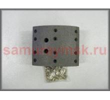 Накладки колодок FUSO MK##/HINO GK1(ISUZU FSR90 перед/зад) IBK